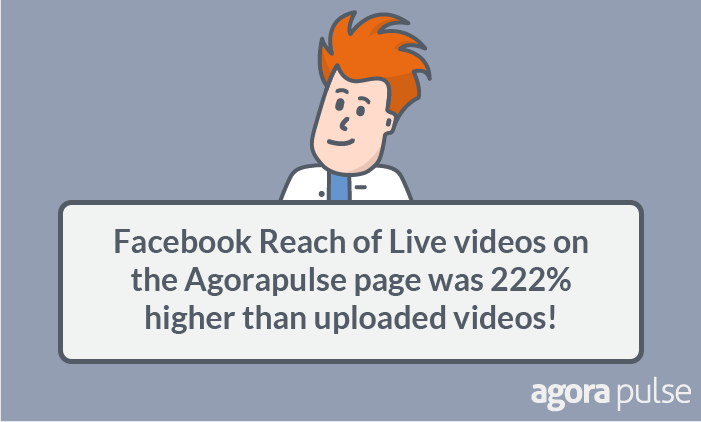 drive more traffic to your blog posts using video - facebook live video stats