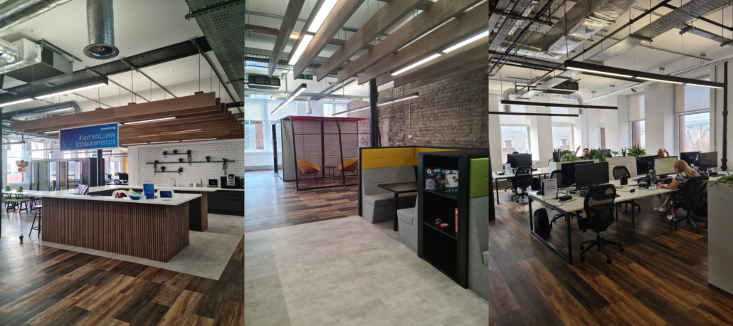 Incremental Groups' new Hybrid Working Office space in Glasgow